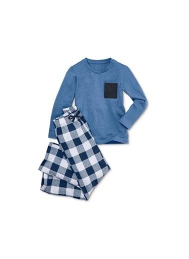Flanel Pijama Takımı-Tchibo